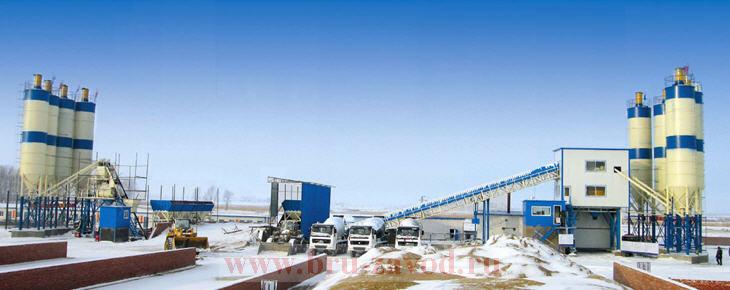 Зимний бетонный завод, зимний БСУ, зимний РБУ