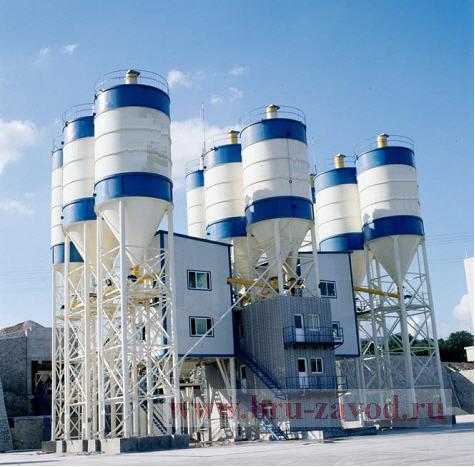 бетонный завод бру бетонные заводы