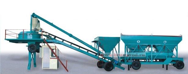 Бетонный мини завод